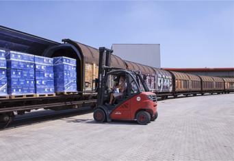 trasporto ferroviario merci