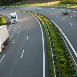 Road trasporto su gomma