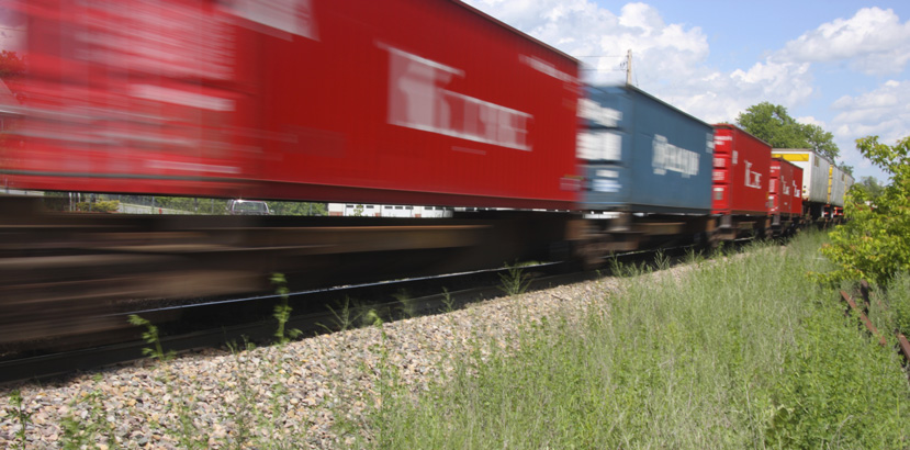 trasporto merci su treno