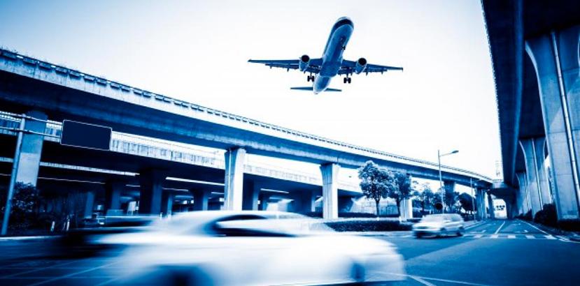 aereo e traffico città